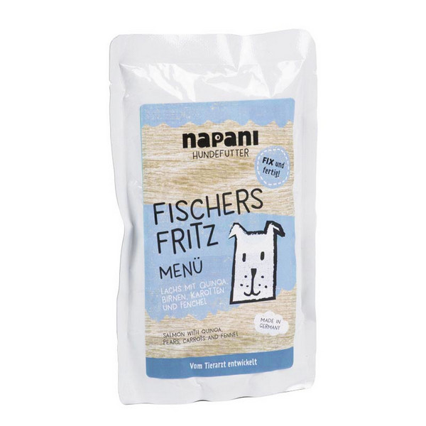 Napani Fischers Fritz Menu for Dogs 150g