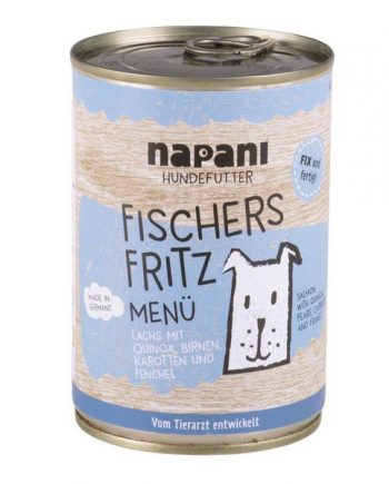 Napani Fischers Fritz Menu for Dogs 400g