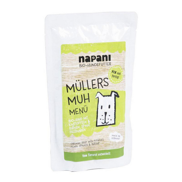 Napani Mullers Muh Menu for Dogs 150g
