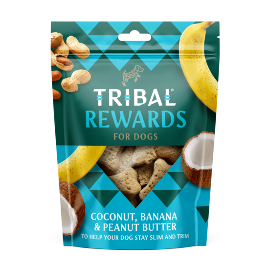 Tribal Coconut, Banana & Peanut Butter oven baked dog cookies